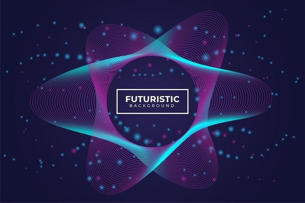 Sfondo futuristico moderno