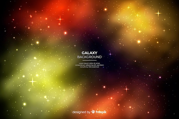 Astratto Sfondo Spazio Galassia Verde Scaricare Vettori Gratis