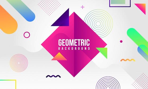 Sfondo geometrico astratto