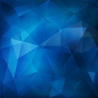 Sfondo geometrico blu