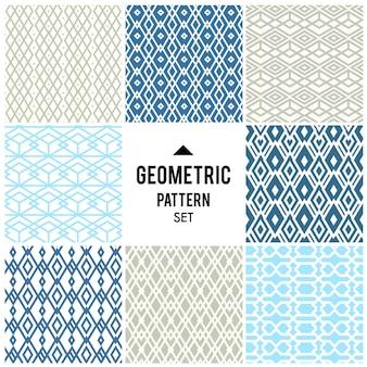Sfondo geometrico con rombi e nodi. motivo geometrico astratto