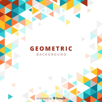 Sfondo geometrico con sfumature
