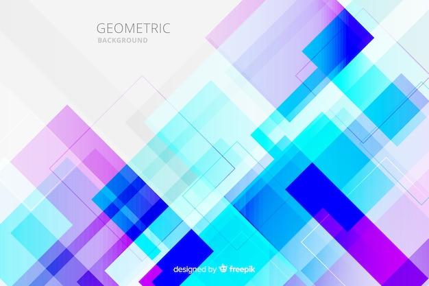 Sfondo geometrico multicolore