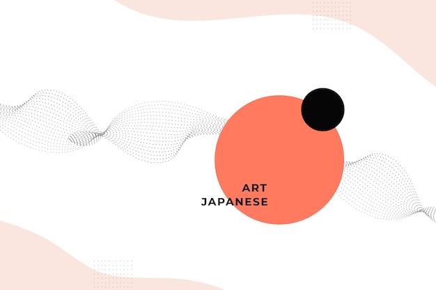 Sfondo geometrico nel design giapponese
