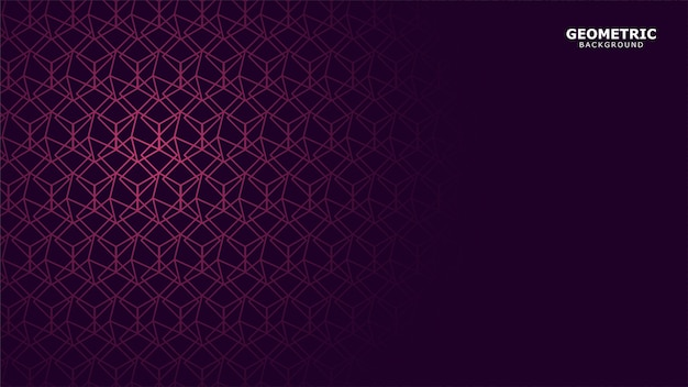 Sfondo geometrico viola scuro