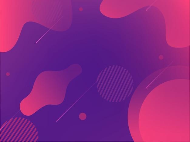 Sfondo geometrico viola