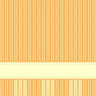 Sfondo giallo a maglia
