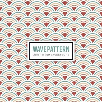 Sfondo giapponese e pattern. consistenza della curva d'acqua. elementi d'onda