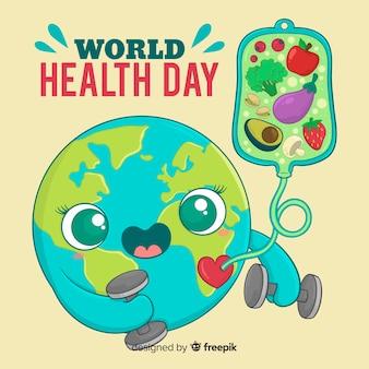 Sfondo giornata internazionale della salute