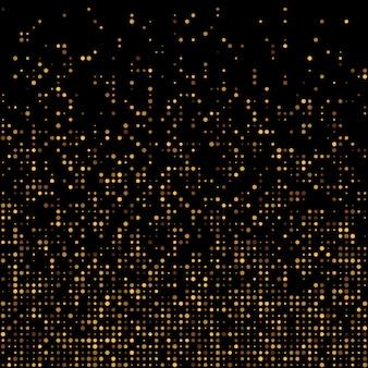 Sfondo glitter oro da discoteca.