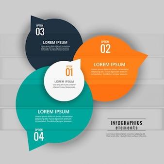 Sfondo infografica