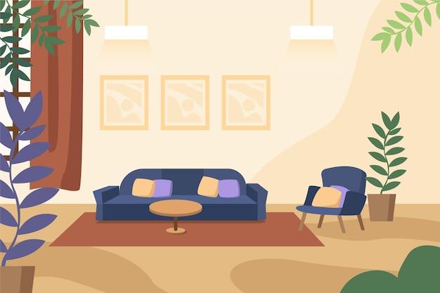 Sfondo interno casa