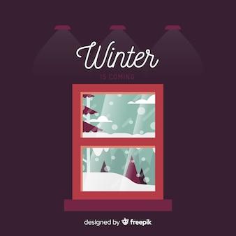 Sfondo invernale