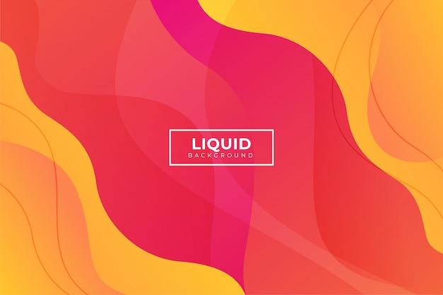 Sfondo liquido moderno