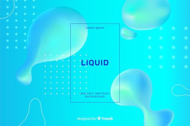 Sfondo liquido realistico