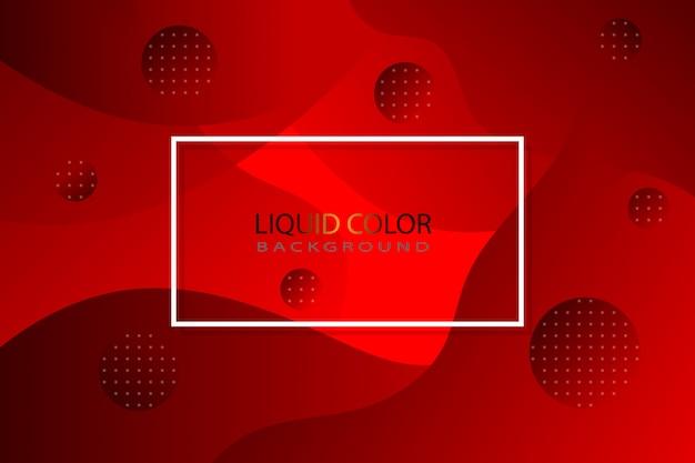 Sfondo liquido rosso