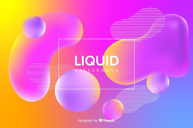 Sfondo liquido sfumato