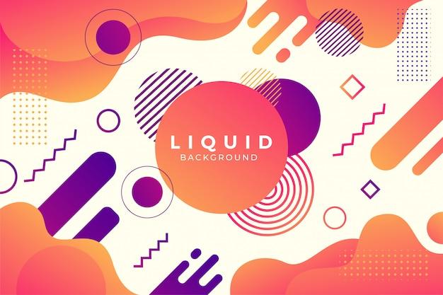 Sfondo liquido unico