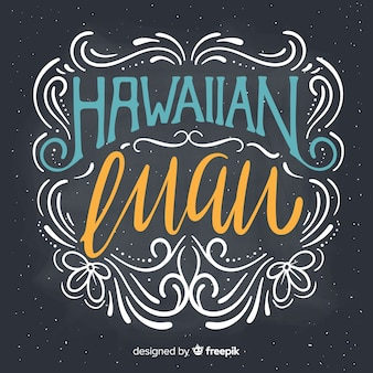 Sfondo luau hawaiano