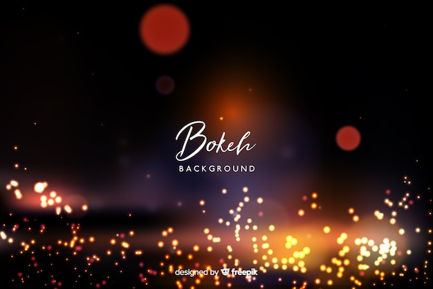 Sfondo luminoso bokeh