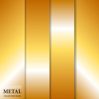 Sfondo metallo dorato sfumato
