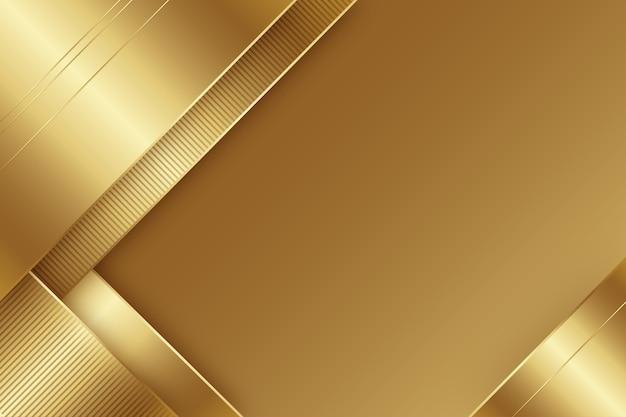 Sfondo minimalista di lusso in oro