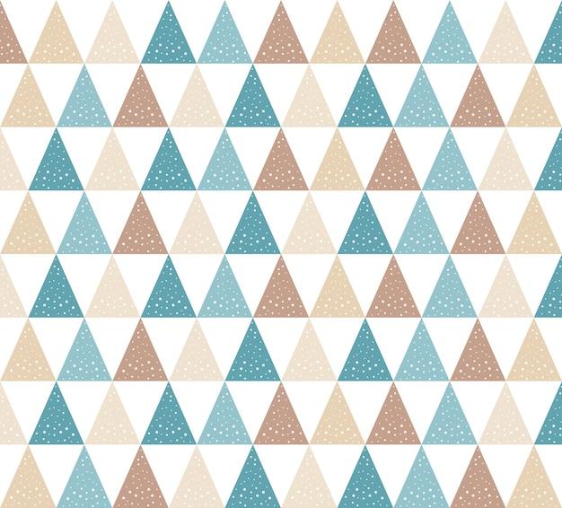 Sfondo modello triangolo