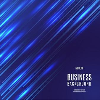 Sfondo moderno business con effetto velocità