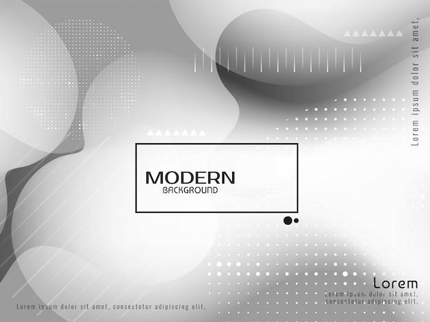 Sfondo moderno elegante liquido di colore grigio