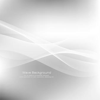 Sfondo moderno grigio onda astratta