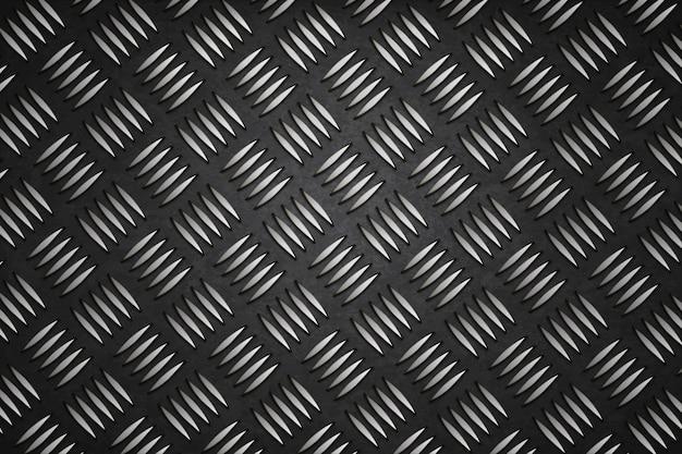 Sfondo nero in acciaio design nero