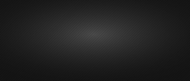 Sfondo nero minimalista con trama a costine
