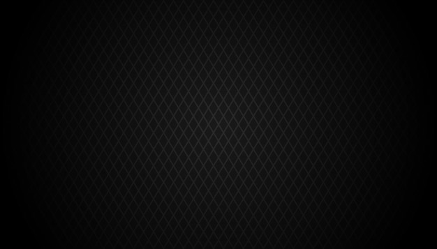 Sfondo nero scuro griglia geometrica moderna trama scuro astratta vettoriale