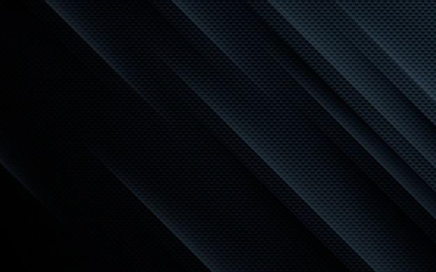 Sfondo nero trama diagonale astratta