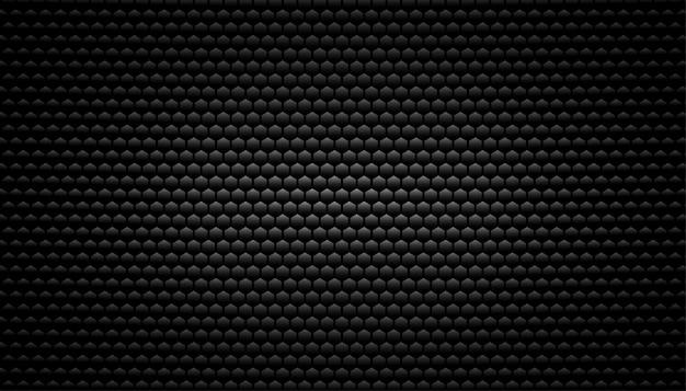 Sfondo nero trama in fibra di carbonio