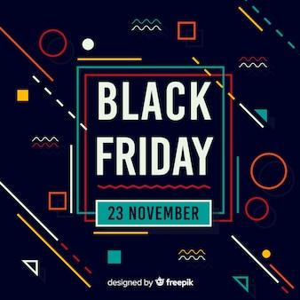 Sfondo nero venerdì