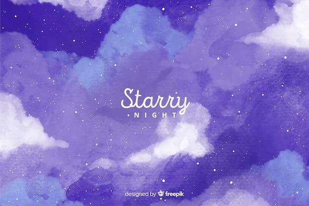 Sfondo notte stellata