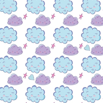 Sfondo nuvole carino