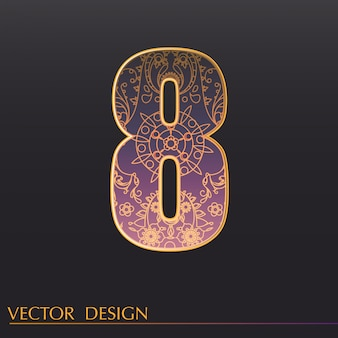 Sfondo ornamentale 8