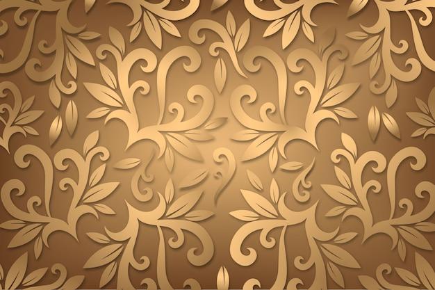 Sfondo ornamentale astratto floreale
