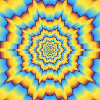 Sfondo ottico psichedelico