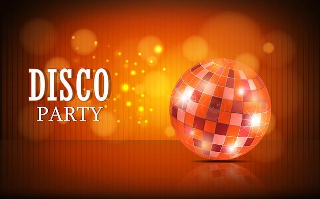 Sfondo palla da discoteca