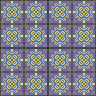 Sfondo pattern di piastrelle