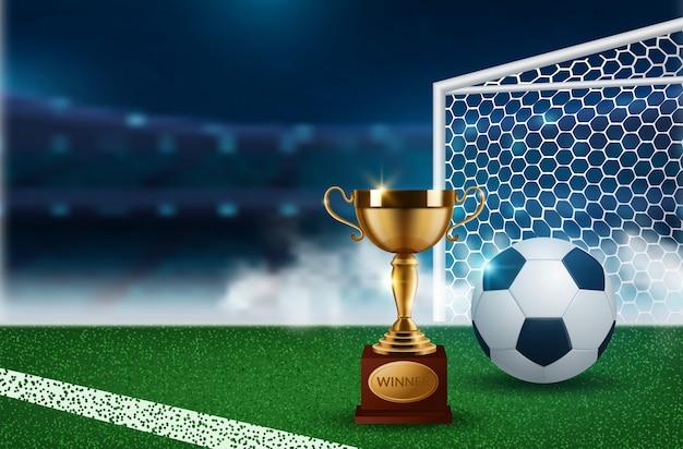 Sfondo per il campionato di calcio