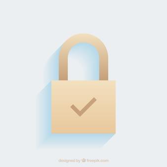 Sfondo piano padlock