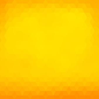 Sfondo poligonale in toni giallo e arancio