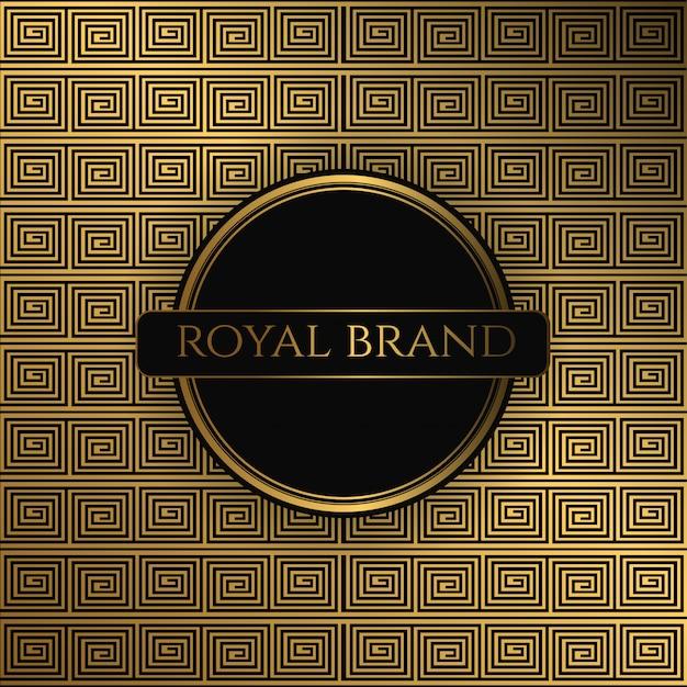 Sfondo premium di lusso con colore oro