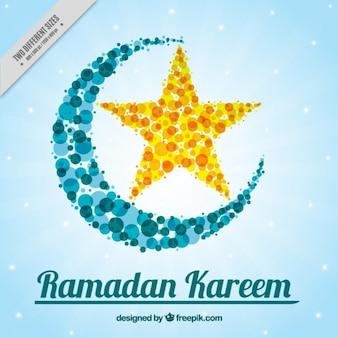 Sfondo ramadan costituito da cerchi