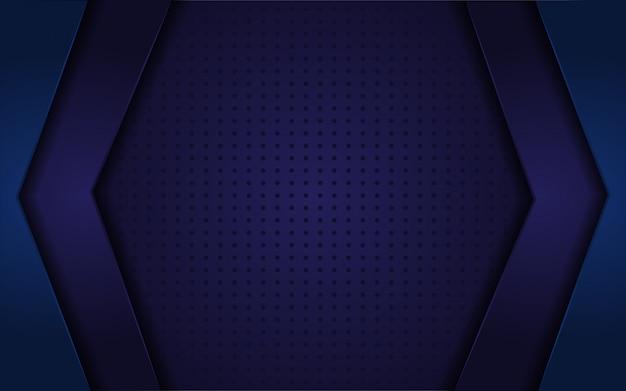 Sfondo realistico astratto blu scuro