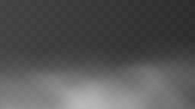 Sfondo realistico nebbia mattutina